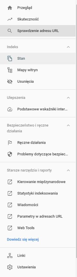 google search console porady